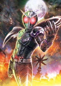 Kamen rider W, protector of Fuuto city