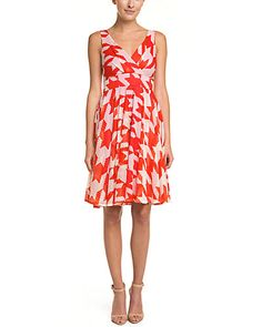 Dress for summer wedding? Shape is good, but would need jacket. This one is polyester (yuck), and print would probably wear me.