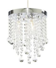 Zambezi Crystal Effect Bathroom Light, 5052931167869
