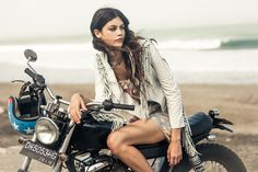 Boho fashion - bohemian - gypsy style
