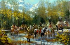 Jim Carson Studio - Western Art, Images from the Great West