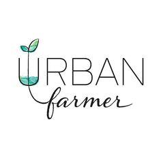 Urban Farmer Branding, Packaging + Strategy - Pivot Marketing Inc Logo Inspiration, Farmers Market Logo, Roots Logo, Plant Logos, Agriculture Logo, Food Logo Design, Urban Farmer, Farm Logo, Business Branding
