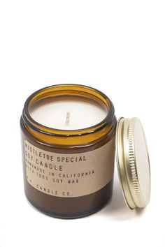 Mistletoe Candle. The candle brings all the Christmas scents to your home.