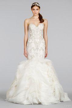 Lazaro Spring 2014 Wedding Dresses | Wedding Inspirasi