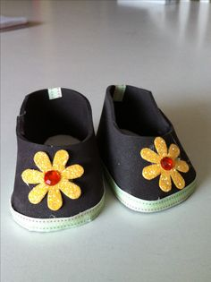 American girl shoes made with fun foam
