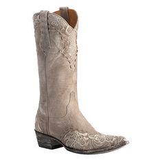 Old Gringo Erin Embroidered Cowgirl Boots Pointed Toe ($440) ❤ liked on Polyvore