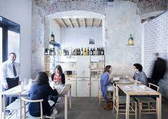 Klein maar héél fijn restaurant in Milaan: 28Posti