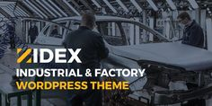Beer Factory, Best Wordpress Themes, Industrial