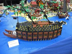 Awesome Lego, Cool Lego, Lego Ship, Photo And Video, Photos, Pictures