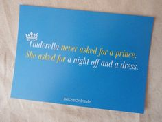 Slogan: Cinderella never asked for a prince … | Walking in the Clouds – Das Portal rund um Romance in Buch, Film & Co.