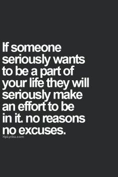No Reasons. No Excuses. Well said