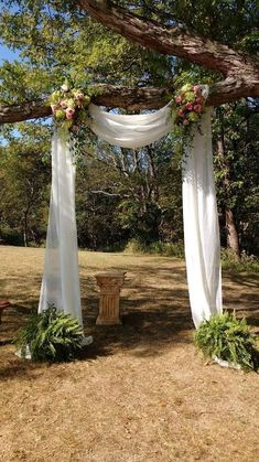 Wedding decor, wedding DIY, romantic wedding wedding arch outdoor ceremony 55 romantic wedding decor ideas - Page 34 of 55 - LoveIn Home Romantic Wedding Decor, Outdoor Wedding Decorations, Fall Wedding, Diy Wedding, Dream Wedding, Outdoor Weddings, Country Weddings, Rustic Weddings, Unique Weddings