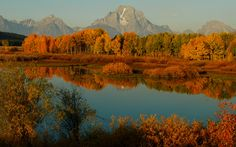 Autumn Dawn in Grand Teton National Park