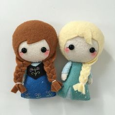 Princess of Arendelle Felt Plush Toy by pinkTopic on Etsy