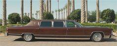 1979 Lincoln Continental double cut limousine