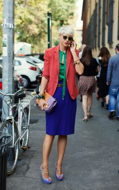 The trendsetter and oh so original, Elisa Nalin #modest