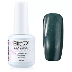 Elite99 gel-polish 15ml   Color Code: 1537   Features: * Best quality control to ensure high quality polish * On like polish, wears like Gel, off in minutes * It offers the widest color range for reasonable price * Long lasting for at least 2-3 weeks, fantastic and super bright nails for you. * No grinding. No filing. No drying time after application: curing with UV gel. End of redoing from scratch * No more imperfect surface, dents or nails cut. Color resistant, flexible and shiny resistant…