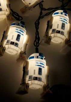 In the dark about how to decorate for your next geeky get-together? Brighten up your pad with these R2D2-shaped string lights - an out-of-this-world accent for any abode! Everyone's favorite droid glows with personality every time you plug in these indoor-outdoor lights. Wrap them around a holiday tree, or hang them along your mantle to flaunt your fandom in your everyday decor. You'll be the best hostess in the galaxy with these lights adorning your abode!