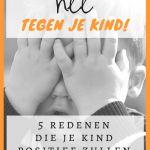 Zeg nee tegen je kind voor een gelukkig kind. Mindset, Boys, Psychology, Baby Boys, Attitude, Guys, Sons, Young Boys