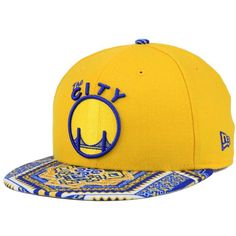 75e553fb20d New Era Golden State Warriors Kaleidovize 9FIFTY Snapback Cap ( 32) ❤ liked  on Polyvore featuring men s fashion