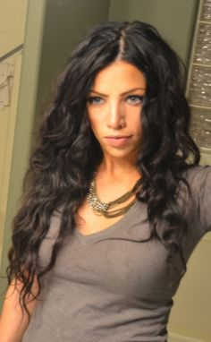 messy curls with tapered curling iron.. link takes you to awesome tutorial