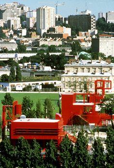 Parc de la Villette Paris, 1982-1998, byBernardTschumi...