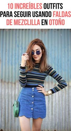 Scalloped skirt outfit style antrekk, klær e casual Fashion Guys, Denim Fashion, 90s Fashion, Retro Fashion, Korean Fashion, Fashion Outfits, Fashion Spring, Trendy Fashion, High Fashion