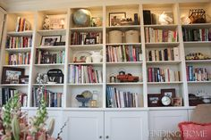 Great shelves with closed cabinets underneath.  I would store board games and throw blankets in there.