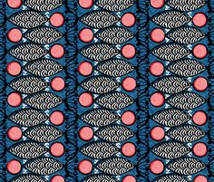 samaki fabric by ottomanbrim on Spoonflower - custom fabric