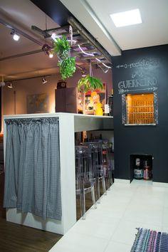 Ideias sustentáveis para reforma de apartamento - lovely decor - decoração industrial - apartamento de homem - cozinha moderna