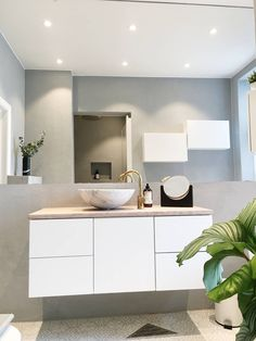 - Architecture and Home Decor - Bedroom - Bathroom - Kitchen And Living Room Interior Design Decorating Ideas - Bathroom Inspo, Bathroom Inspiration, Bathroom Interior, Mad About The House, Wall Hung Toilet, Scandinavian Bathroom, Bad Inspiration, Home Decor Bedroom, Cheap Home Decor