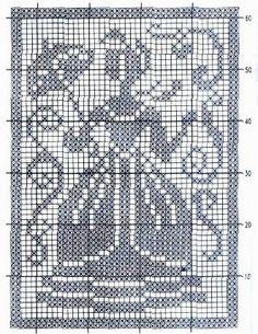 crochet em revista: Quadros