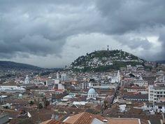 El Panecillo, Home of the Apocalyptic Virgin Statue
