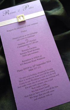 Gorgeous DL size invitation x