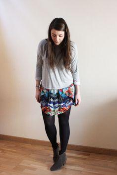 C B C M G - HM sweater - Zara skirt - Isabel Marant Dickers boots