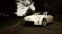 Nissan 350z - Satin Pearl White Wrap