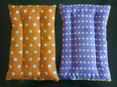 Almohadas Almohaditas Terapeuticas De Semillas Tamaño Grande Heat Band, Sewing To Sell, Rice Bags, Plus Dresses, Mattress, Stitch, Pillows, Crochet, Diy