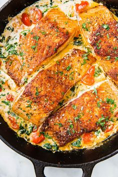 Salmon recipes 20055160827345171 - Tuscan Butter Salmon Is An Impressive Dinner That ANYONE Can MakeDelish Source by thenovicechef Seafood Recipes, Dinner Recipes, Cooking Recipes, Healthy Recipes, Italian Fish Recipes, Recipes For Fish, Cooked Shrimp Recipes, Chicken Recipes, Tuscan Recipes