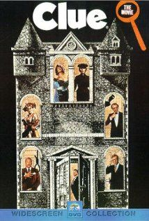Clue Movie Poster Eileen Brennan, Tim Curry, Madeline Kahn, C, Licensed - Party Ideas Mystery Dinner Party, Mystery Parties, Mystery Games, Mystery Crafts, Mystery Film, Mystery Thriller, Madeline Kahn, Tim Curry, Clue Movie