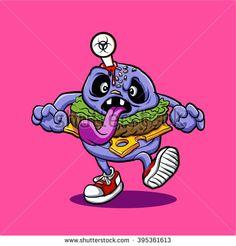 zombie burger.