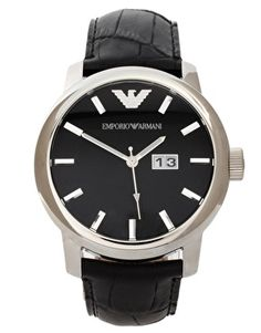 Emporio Armani AR0428 Classic Core Leather Watch