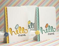 Lawn Fawn Intro: Lawn Fawndamentals Note Cards