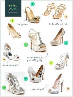 REVEL Picks: Bridal Shoes