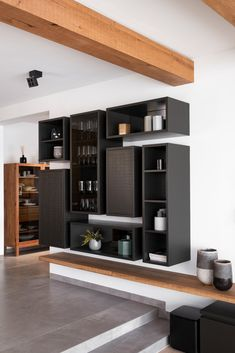 haus s - Möbelbau Breitenthaler, Tischlerei Shelving, Modern, Design, Home Decor, Carpentry, Natural Stones, Shelves, Trendy Tree, Decoration Home