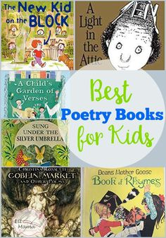 Getting kids excited about poetry is easy with the right books