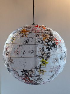 Hey, I found this really awesome Etsy listing at https://www.etsy.com/listing/106202785/rice-paper-lampshade-stamped-with-black
