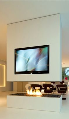 Unique Tv Wall Unit Setup Ideas (45)