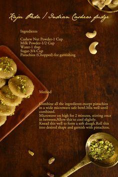 Indian cashew nut fudge need to get more cashews!