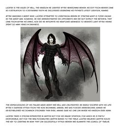 Lucifer, the devil himself, ruler of the underworld is a character that appears in our graphic novel