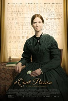 Directed by Terence Davies. With Cynthia Nixon, Jennifer Ehle, Duncan Duff, Keith Carradine. The story of American poet Emily Dickinson from her early days as a young schoolgirl to her later years as a reclusive, unrecognized artist. Jennifer Ehle, Great Movies, New Movies, Watch Movies, Latest Movies, Film Watch, Movies Free, Netflix Movies, Film Dc